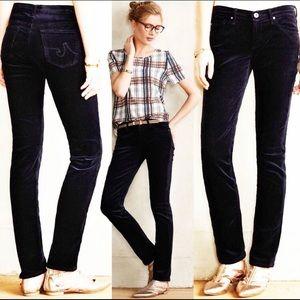 AG stevie slim straight corduroy dark navy Jeans